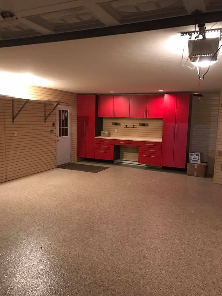 garage cabinets red Indianapolis