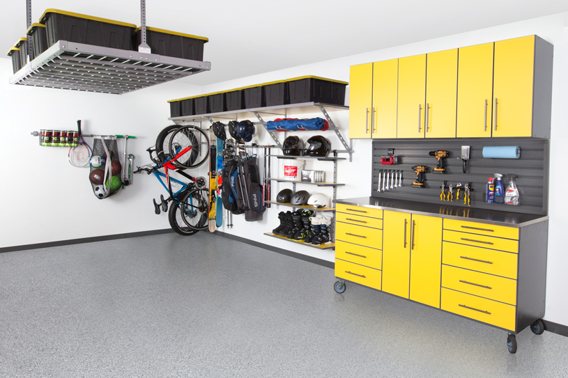 Unique Garage Makeovers Indianapolis